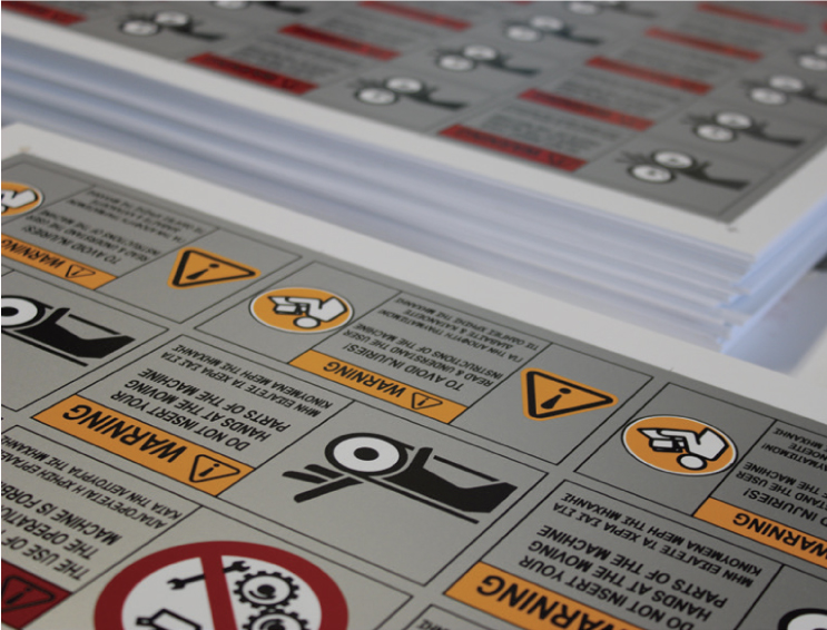 autocollant, signes, sérigraphie, impression numérique, SAFETY SIGNS STICKERS